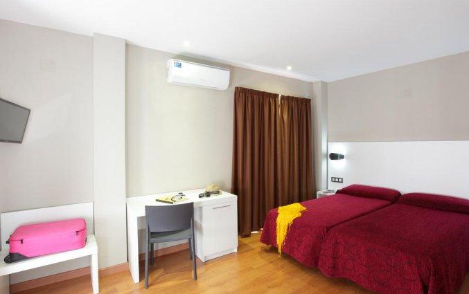 Slaapkamer van hotel Alameda in Alicante