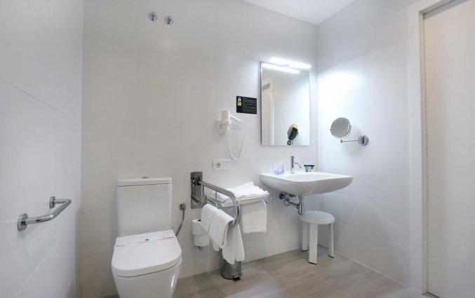Badkamer van hotel Alameda in Alicante