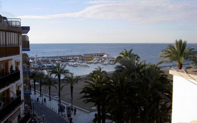 Uitzicht van hotel Milord's Suites in Alicante
