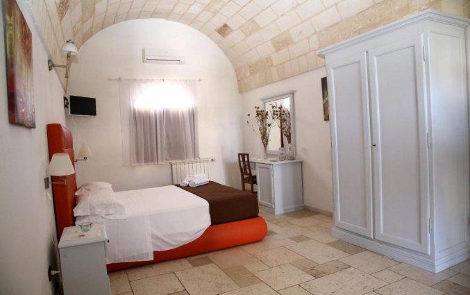 Tweepersoonskamer van Agriturismo Tenuta Mazzetta in Puglia