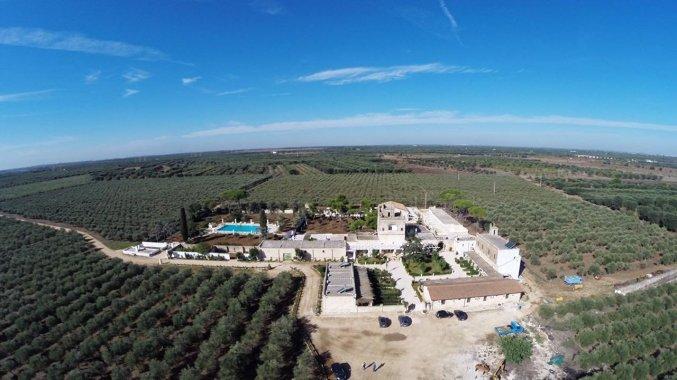 Uitzicht op Agriturismo Tenuta Mazzetta in Puglia