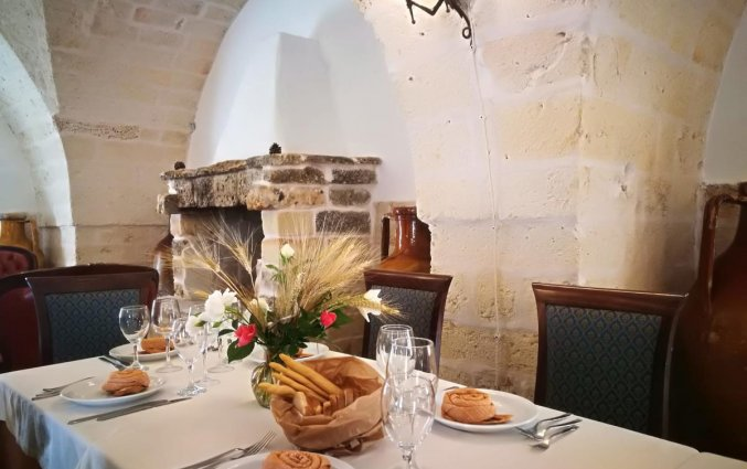 Restaurant van Agriturismo Tenuta Mazzetta in Puglia