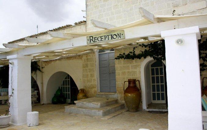 Receptie van Agriturismo Tenuta Mazzetta in Puglia