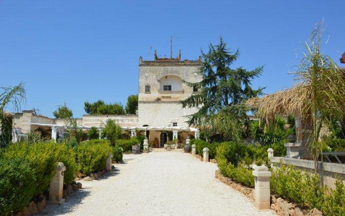 Tuin van Agriturismo Tenuta Mazzetta in Puglia