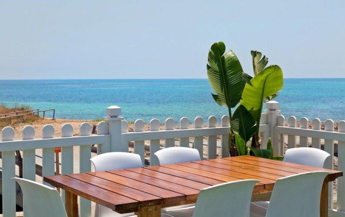 Terras van Resort Terra d'Acqua in Puglia