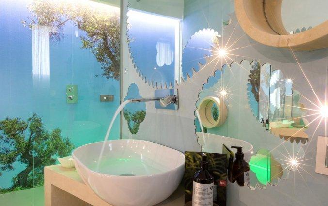 Badkamer van Resort Terra d'Acqua in Puglia