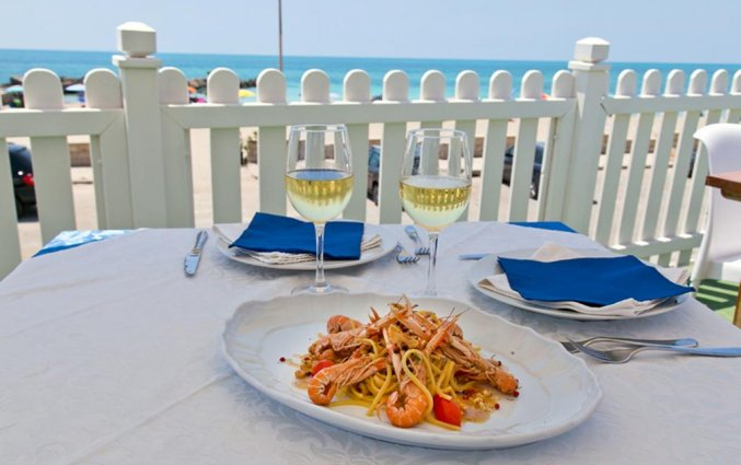 Buffet van Resort Terra d'Acqua in Puglia