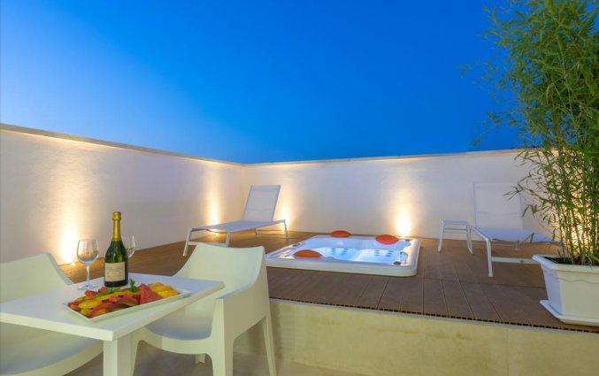 Dakterras van Resort Terra d'Acqua in Puglia