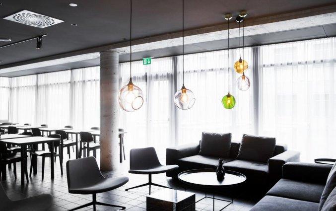 Lounge van hotel Skuggi by Keahotels IJsland