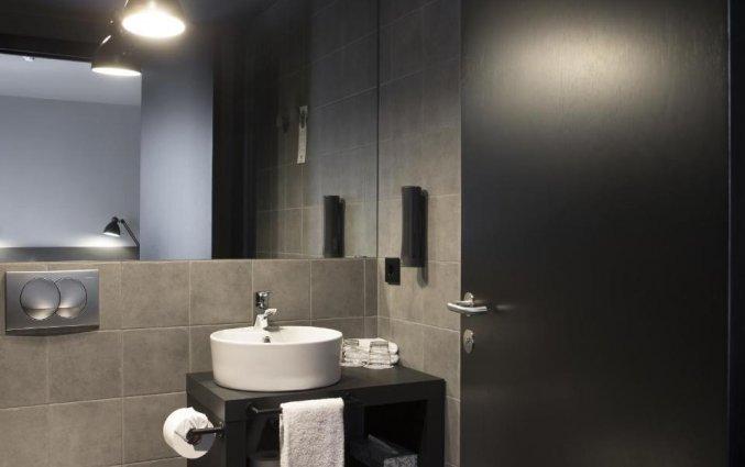 Badkamer van hotel Skuggi by Keahotels IJsland