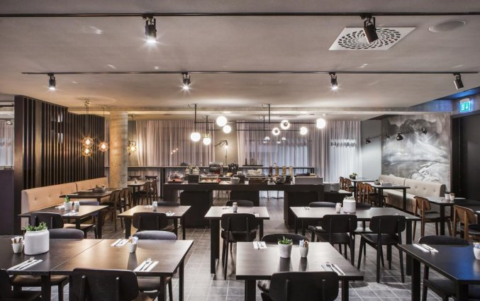 Restaurant van hotel Skuggi by Keahotels IJsland