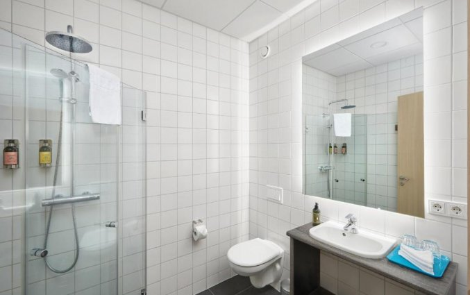 Badkamer van hotel Alda in Reykjavik