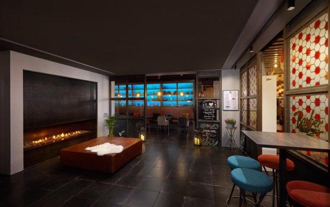 Lounge van hotel Alda in Reykjavik