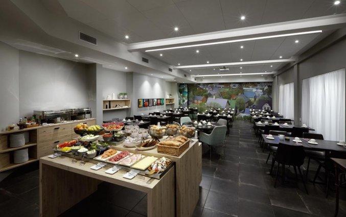 Buffet van hotel Alda in Reykjavik