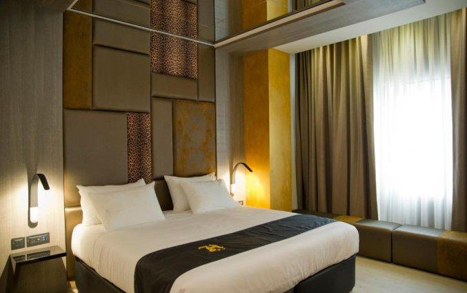 Slaapkamer van hotel Hugo's Boutiquein Malta