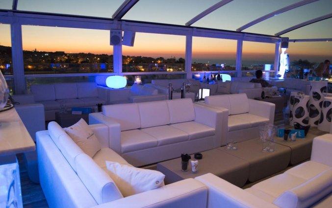 Lounge van hotel Hugo's Boutiquein Malta