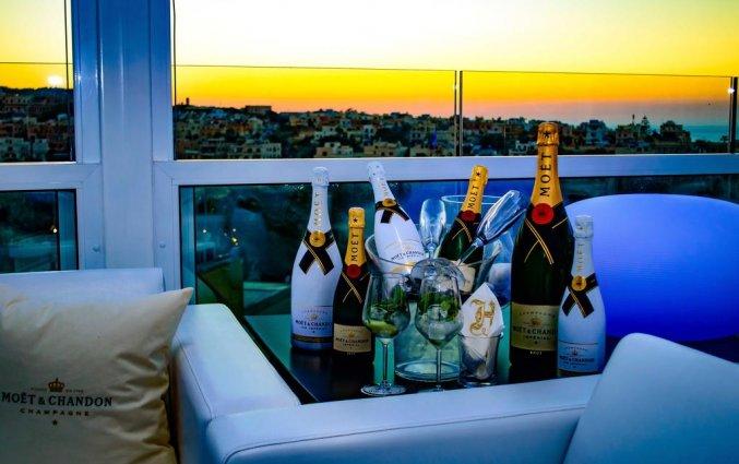 Wijn van hotel Hugo's Boutiquein Malta