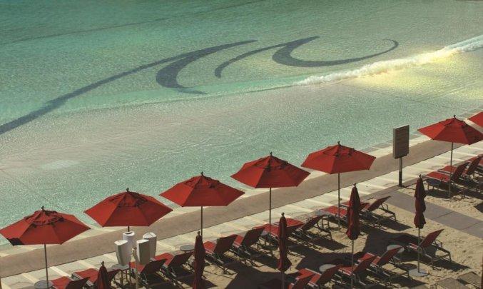 Strand van resort Mandalay Bay and Casino