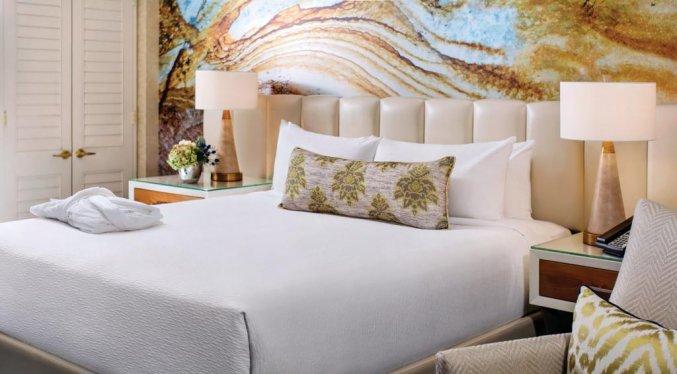 Tweepersoonskamer van resort Mandalay Bay and Casino