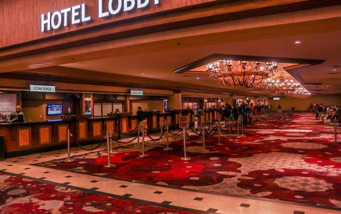 Lobby van hotel Excalibur resort and Casino