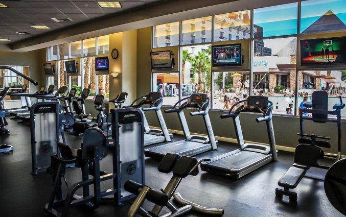 Sportschool van hotel Excalibur resort and Casino
