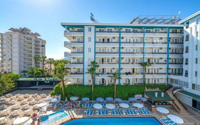 Zwembad van hotel Blue Star Alanya