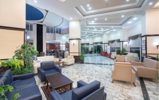 Lobby van hotel Blue Star Alanya