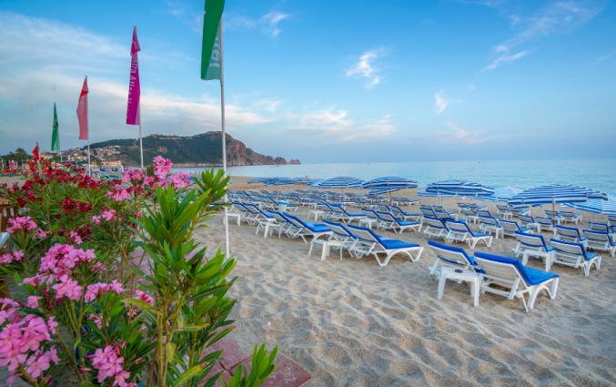 Strand van hotel Blue Star Alanya