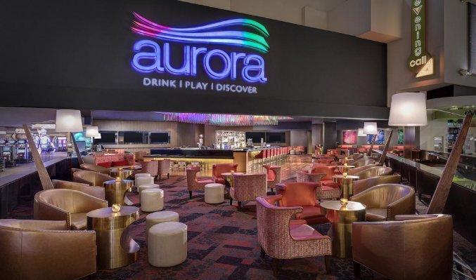 Bar van hotel Luxor en Casino