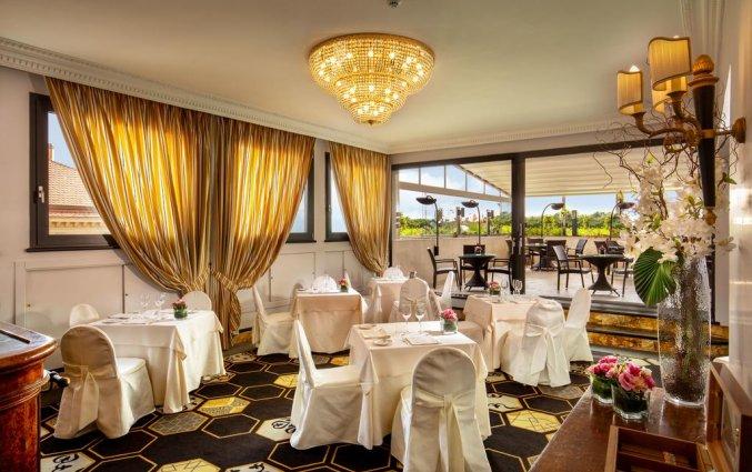 Restaurant van hotel Savoy in Rome