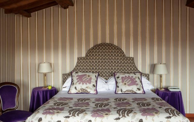 Slaapkamer Hotel room Mate Florence Italië