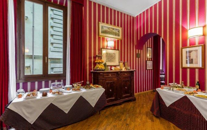 Ontbijtzaal Hotel room Mate Florence Italië