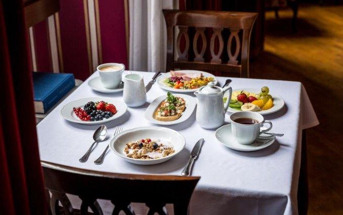 Ontbijt Hotel room Mate Florence Italië