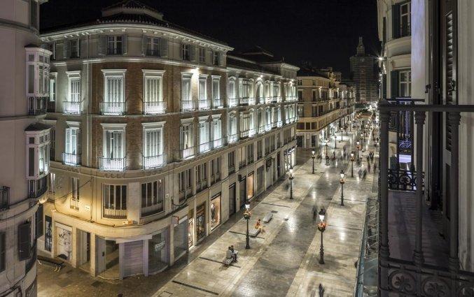 Uitzicht van hotel Room Mate Larios in Malaga