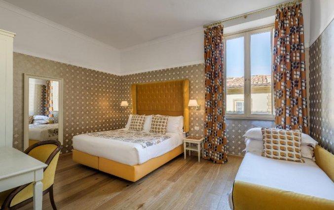 Driepersoonskamer van Hotel Room Mate Luca in Florence