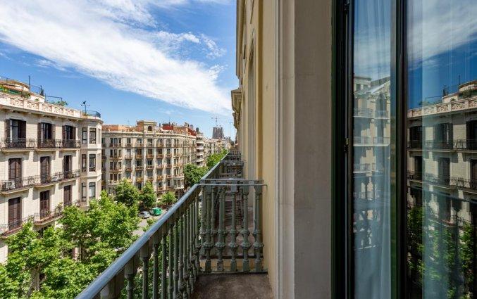 Uitzicht van hotel Room Mate Carlain Barcelona