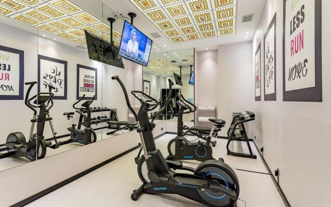 Fitnessruimte van hotel Room Mate Carlain Barcelona