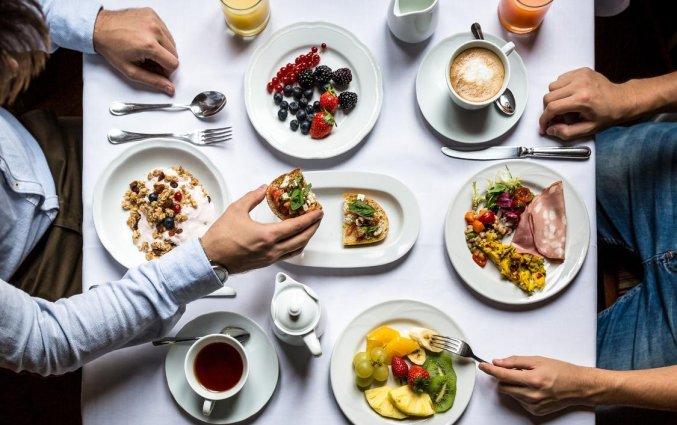 Ontbijt van Hotel Room Mate Alicia in Madrid