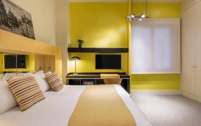 Tweepersoonskamer van Hotel Room Mate Alicia in Madrid