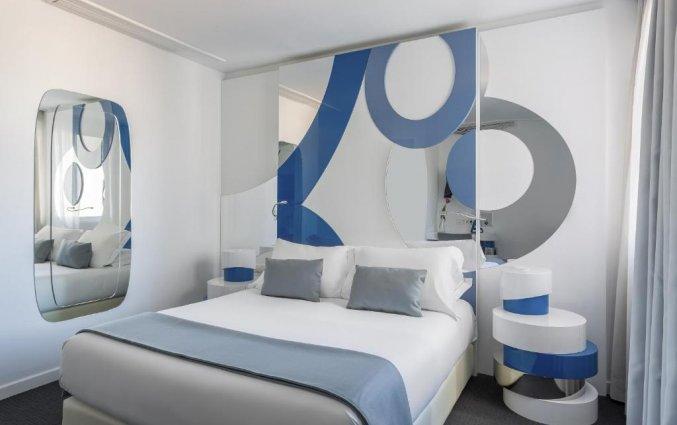 Tweepersoonskamer Hotel Room Mate Oscar in Madrid