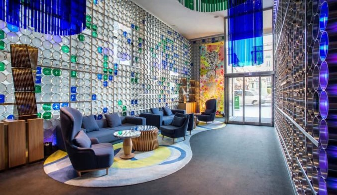 Lobby Hotel Room Mate Oscar in Madrid