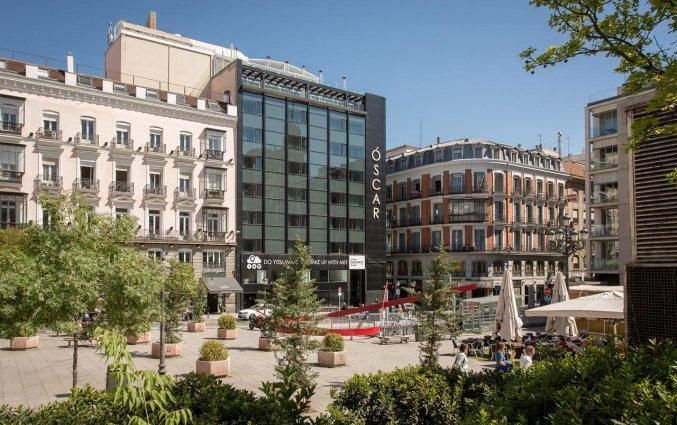 Plein Hotel Room Mate Oscar in Madrid