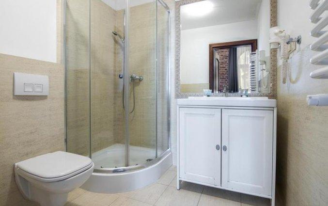 Badkamer van appartementen Pergamin Royalin Krakau