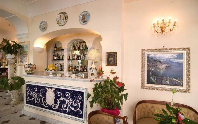 Receptie van Hotel Santa Lucia in Amalfi
