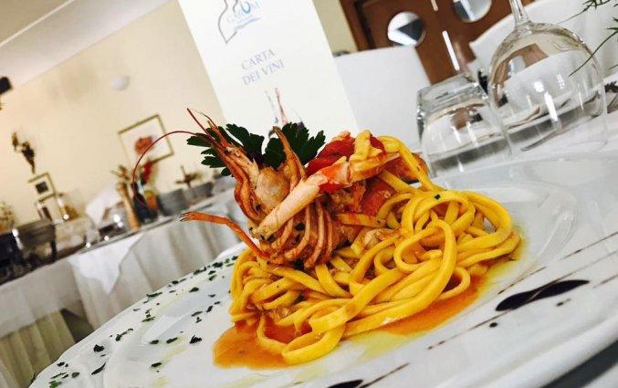 Gerecht bij Restaurant Garum in Amalfi