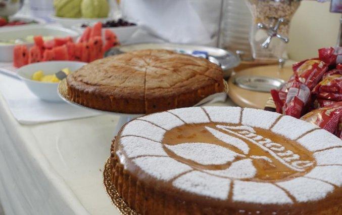 Ontbijt in Hotel Santa Lucia in Amalfi