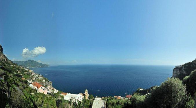 Uitzicht vanaf van B&B World Centre in Amalfi
