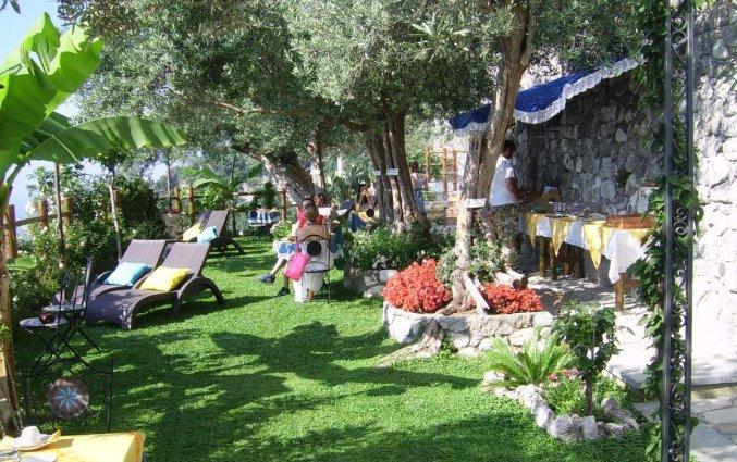 Tuin van B&B World Centre in Amalfi