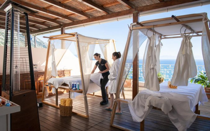 Massageruimte van Hotel Margherita in Amalfi