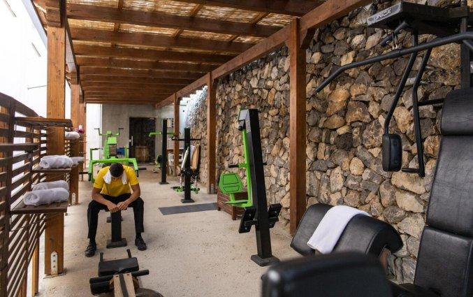 Fitnessruimte van Hotel Margherita in Amalfi